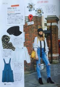 Ellegirl Japan magazine (May issue)