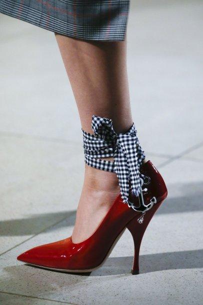 Lace up shoes - Miu Miu