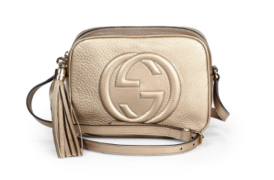 GUCCI - Soho bag metallic (£650)