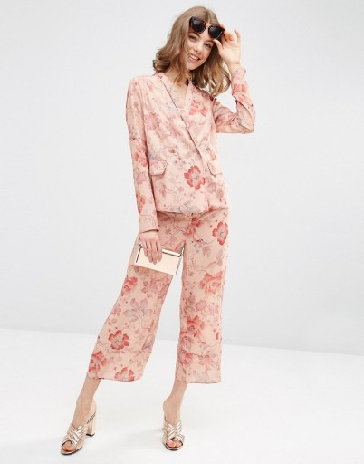 ASOS - Co-ord floral suit £72