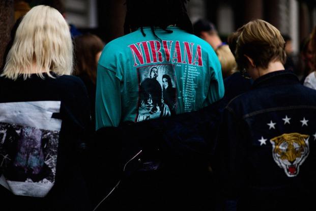 Band Tshirt trend