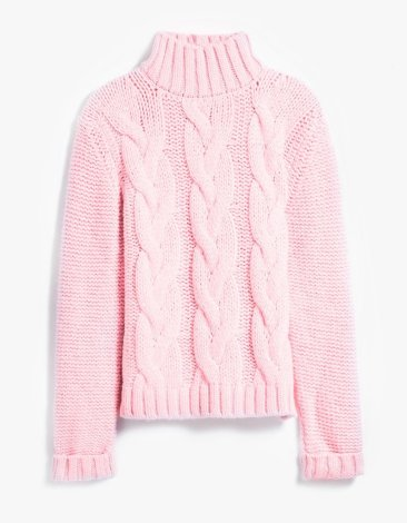 A pink turtle neck | GANNI - £280