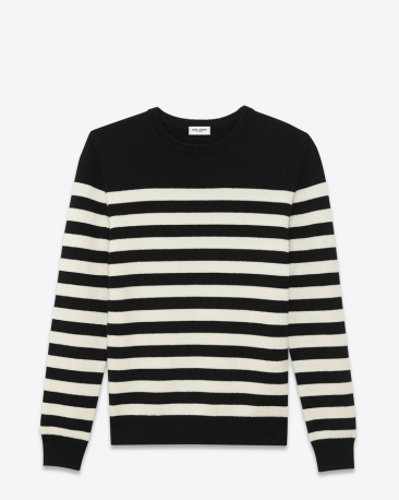 A striped cashmere jumper | SAINT LAURENT - £680