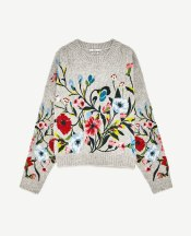 A cute embroidered jumper | ZARA - £69,99